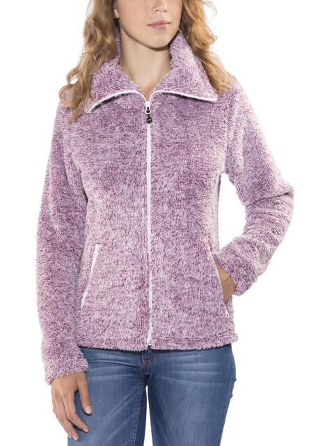 Meru Kurgan Fleece Jacket Women boysenberry light